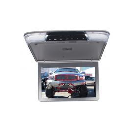 """Stropní monitor 11,6"""" šedo/stříbrný s SD/USB/IR/FM/HDMI"""