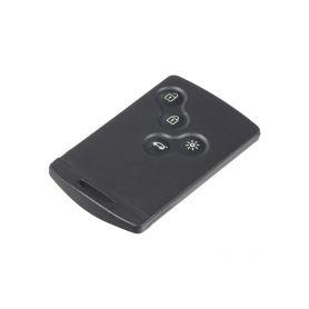 48RN010 Náhr. karta pro Renault Scenic, Megane, 4-tlačítková OEM ovladače, klíče