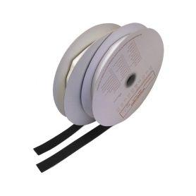 WT311/25BK Suchý zip samolepící - smyčky 0,2x25m, černý Samolepící pásky a hmoty