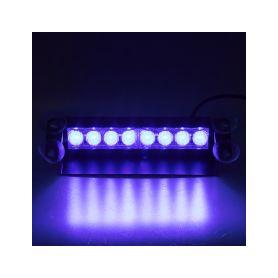 KF750-2BLU PREDATOR LED vnitřní, 8x3W, 12-24V, modrý, 240mm Vnitřní