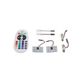 CarClever LED T10 bílá, 12V, 3D 2W 1-95c-t10-3d