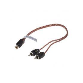 Stinger CINCH Y kabel 2x samec, 1x samice 1-si42ym