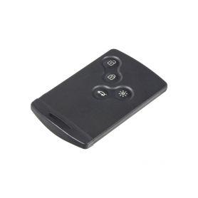 48RN011 Náhr. karta pro Renault Koleos, Megane, 4-tlačítková s Keyless OEM ovladače, klíče