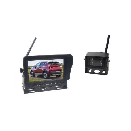 """SET bezdrátový digitální kamerový systém / 1 x 4pin s monitorem 7"""""""