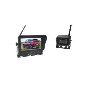 """SVWD47SETT SET bezdrátový digitální kamerový systém / 1 x 4pin s monitorem 7"""", dotyk tlačítka Parkovací sady"""