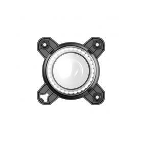 """CarClever Stropní monitor 11,6"""" šedo/stříbrný s SD/USB/IR/FM/HDMI 1-ic-116slim"""