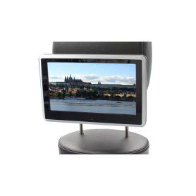 """DS-X11DSILVER DVD/SD/USB/HDMI monitor 10,1"""" s držákem na opěrku, dotyk. obrazovka, české menu Monitory na opěrky"""