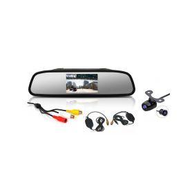 """CW2-ZSET43 Bezdrátová parkovací kamera s LCD 4,3"""" monitorem na zrcátko Parkovací sady"""