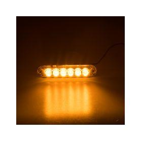 PREDATOR 6x3W LED, 12-24V, oranžový, ECE R65