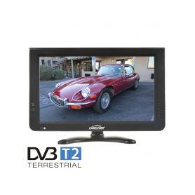"DS-X10DVB-T LCD monitor 10"" s DVB-T2/SD/USB/HDMI/české menu Na palubní desku"
