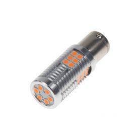 951204ORA LED BAU15s oranžová, 12-24V, 30LED/3030SMD Patice BAU15S