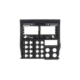 25055/1 MOST plast konektoru černý ISO - FAKRA piny, plasty