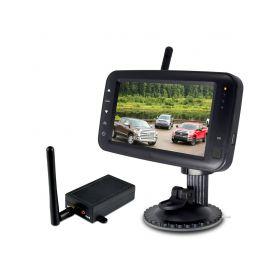 """CW3-DSET431 SET bezdrátový digitální kamerový systém s monitorem 4,3"""" / Transmitter Parkovací sady"""