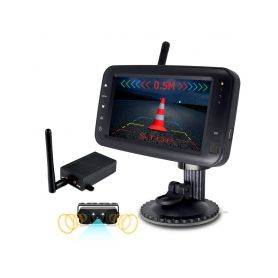 """CW3-PDSET431 x SET bezdrátový digitální kamerový systém s monitorem 4,3"""" / Transmitter + kamera s 2 senzory Parkovací sady"""