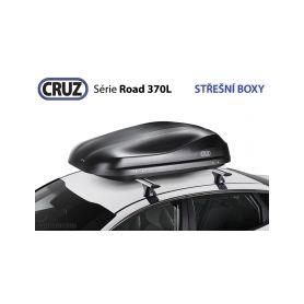 CRUZ Střešní box CRUZ Road 370NT, texturovaná černá 24-940471
