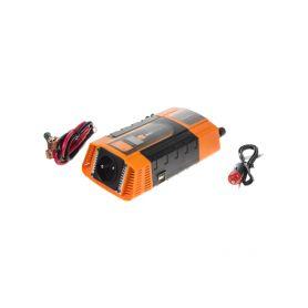 Měnič napětí z 12/220V + USB 600W/displej Měniče z 12V na 230V