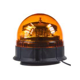 911-90M PROFI LED maják 12-24V 12x3W oranžový, magnet, ECE R65 LED magnetické