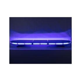 SRE3-31197BLU x LED rampa 1197mm, modrá, 12-24V, 162 x 3W, ECE R65 Modré / červené 600-1400mm