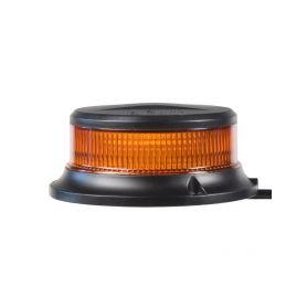 LED maják, 12-24V, 18x1W oranžový, pevná montáž, ECE R65 R10