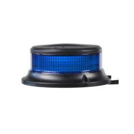 WL310MBLU LED maják, 12-24V, 18x1W modrý, magnet, ECE R65 LED magnetické
