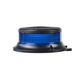 LED maják, 12-24V, 18x1W modrý, pevná montáž, ECE R65 R10
