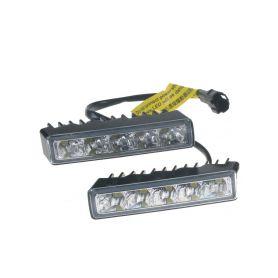 DRLTOP100 LED světla pro denní svícení, 100x24mm, ECE Denní svícení UNI