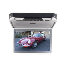 "IC-133D Stropní monitor 13,3"" šedý s DVD/SD/USB/IR/FM/HDMI Stropní monitory"