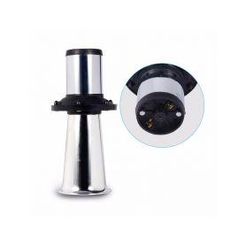 Trumpeta plast 225mm, chrom, 12V