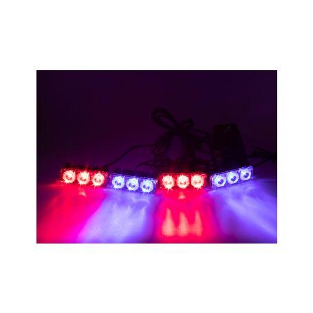 PREDATOR LED vnější bezdrátový, 12x LED 1W, 12V, modročervený 1-kf326wblre
