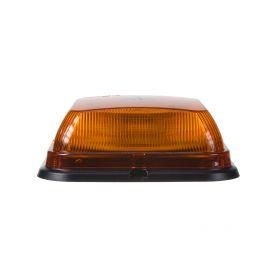 WL830FIX LED maják, 12-24V, 164 x 164mm, 64LED oranžový fix, ECE R10 R65 LED pevná montáž
