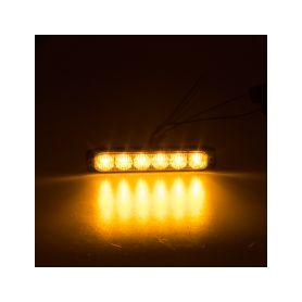 911-006 PROFI SLIM výstražné LED světlo vnější, oranžové, 12-24V, ECE R65 Vnější s ECE R65
