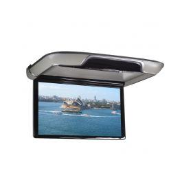 """DS-133AGR Stropní LCD monitor 13,3"""" šedý s OS. Android HDMI / USB, dálkové ovládání se snímačem pohybu Stropní monitory"""