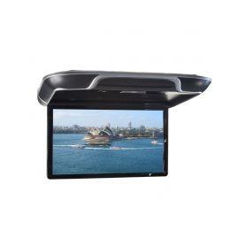 """Stropní LCD monitor 13,3"""" černý s OS. Android HDMI / USB, dálkové ovládání se snímačem pohybu"""