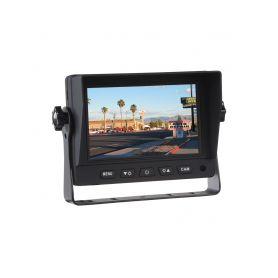 """SV502AHD AHD monitor 5"""" s 2x 4PIN vstupy 4PIN monitory a sety"""