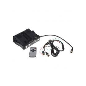 Silikonová pouzdra pro OEM ovladače  1-481ct103blu Silikonový obal pro klíč Citroën 2-tlačítkový, modrý