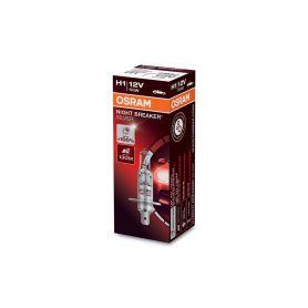 OS64150NBS OSRAM 12V H1 55W night breaker silver (1ks) Halogenové žárovky 12V