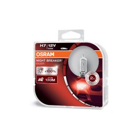 OS64210NBS-HCB OSRAM 12V H7 55W night breaker silver (2ks) Duo-box Halogenové žárovky 12V