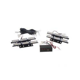 CarClever CSP LED T10 bílá, 12-24V, 3x10W chrom 1-95csp-t10-31