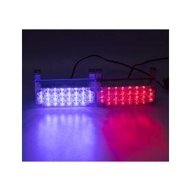 PREDATOR LED vnější, 12V, modro-červený