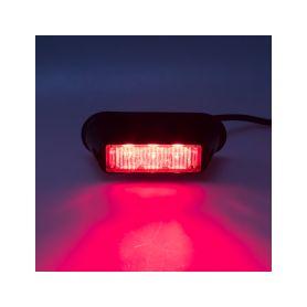 KF003RED PREDATOR 3x1W LED, 12-24V, červený, ECE R10 Vnější ostatní