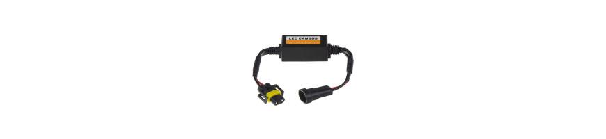Eliminátory + patice pro LED