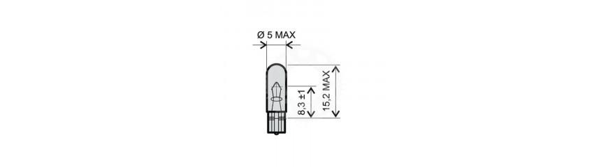 LED žárovky T5